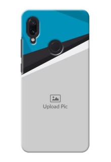 Redmi Note 7 Back Covers: Simple Pattern Photo Upload Design