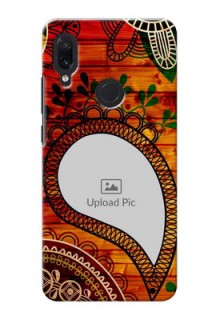 Redmi Note 7 custom mobile cases: Abstract Colorful Design