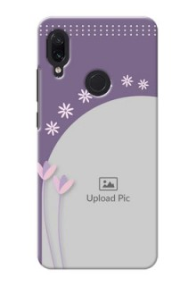 Redmi Note 7 Phone covers for girls: lavender flowers design