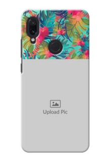 Redmi Note 7 Personalized Phone Cases: Watercolor Floral Design