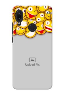 Redmi Note 7 Custom Phone Cases with Smiley Emoji Design