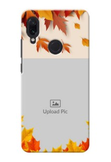 Redmi Note 7 Mobile Phone Cases: Autumn Maple Leaves Design