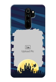 Redmi Note 8 Pro Back Covers: Halloween Witch Design