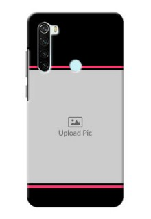 Redmi Note 8 Mobile Covers With Add Text Design