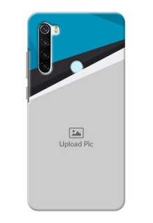 Redmi Note 8 Back Covers: Simple Pattern Photo Upload Design