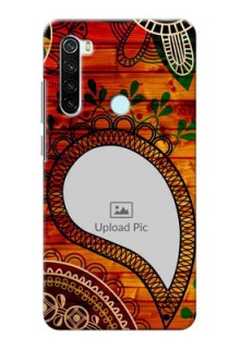 Redmi Note 8 custom mobile cases: Abstract Colorful Design