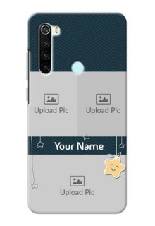 Redmi Note 8 Mobile Back Covers Online: Hanging Stars Design