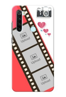 Redmi Note 8 custom phone covers: 3 Image Holder with Film Reel