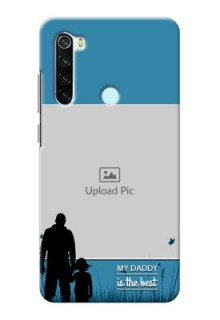 Redmi Note 8 Personalized Mobile Covers: best dad design