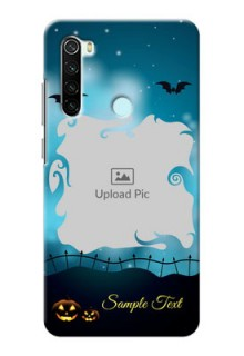Redmi Note 8 Personalised Phone Cases: Halloween frame design