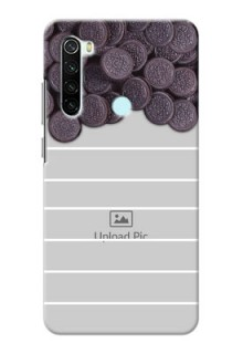 Redmi Note 8 Custom Mobile Covers with Oreo Biscuit Design
