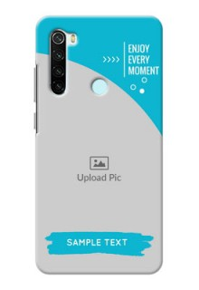 Redmi Note 8 Personalized Phone Covers: Happy Moment Design