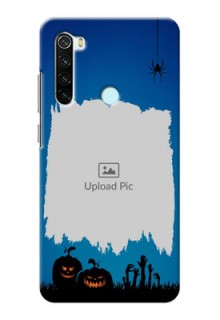 Redmi Note 8 mobile cases online with pro Halloween design