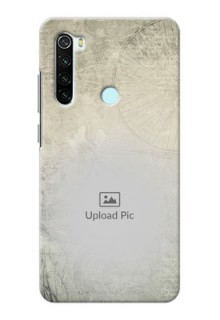 Redmi Note 8 custom mobile back covers with vintage design