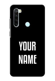 Xiaomi Redmi Note 8 Your Name on Phone Case