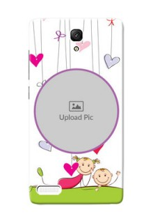 Xiaomi Redmi Note Prime Cute Babies Mobile Cover  Design