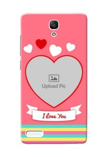 Xiaomi Redmi Note Prime I Love You Mobile Cover Design