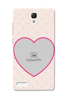 Xiaomi Redmi Note Prime Love Symbol Picture Upload Mobile Case Design