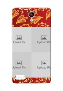 Xiaomi Redmi Note Prime 4 image holder with mandala traditional background Design