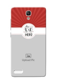 Xiaomi Redmi Note Prime my dad hero Design