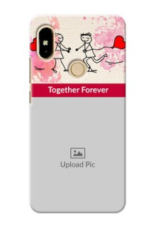 Xiaomi Redmi S2 Just You And Me Mobile Back Case Design