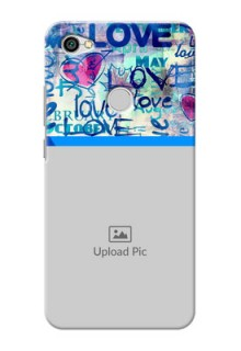 Xiaomi Redmi Y1 Colourful Love Patterns Mobile Case Design