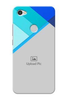 Xiaomi Redmi Y1 Blue Abstract Mobile Cover Design