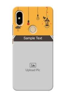 Xiaomi Redmi Y2 my family design with hanging icons Design