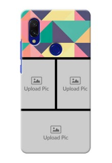 Redmi Y3 personalised phone covers: Bulk Pic Upload Design