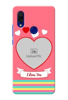 Redmi Y3 Personalised mobile covers: Love Doodle Design