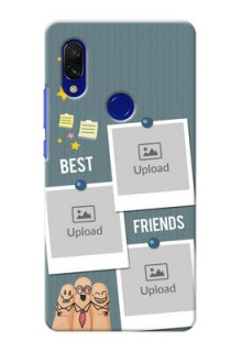 Redmi Y3 Mobile Cases: Sticky Frames and Friendship Design