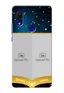 Redmi Y3 Mobile Covers Online: Galaxy Stars Backdrop Design