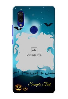 Redmi Y3 Personalised Phone Cases: Halloween frame design