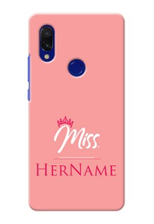 Xiaomi Redmi Y3 Custom Phone Case Mrs with Name