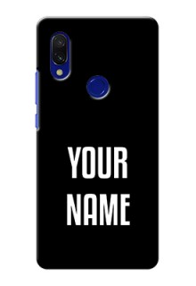 Xiaomi Redmi Y3 Your Name on Phone Case
