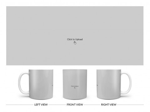 Full Pic Upload Upload Design On Plain white Mug