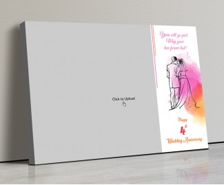 Photo Canvas Frames 14x10 - Holding Hands Each Other  Design