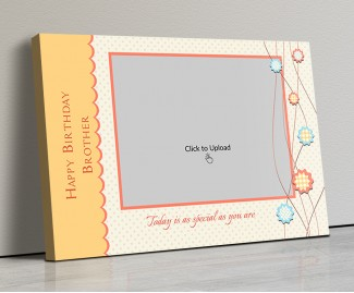 Photo Canvas Frames 14x10 - Today Is As Special Quotation  Design