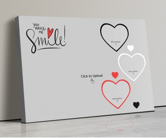 Photo Canvas Frames 14x10 - You Make Me Smile  Design