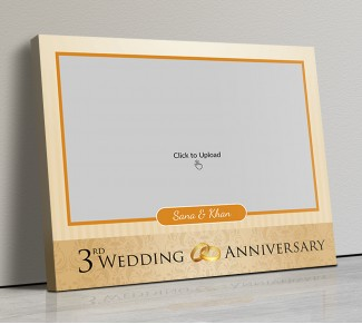 Photo Canvas Frames 14x12 - Wedding Anniversary Special Design