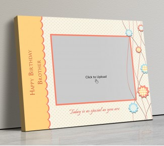 Photo Canvas Frames 14x12 - Today Is As Special Quotation  Design