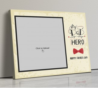 Photo Canvas Frames 14x12 - Father's Day Special Design