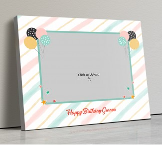 Photo Canvas Frames 14x12 - Happy Birthday Granny Design
