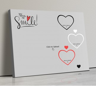 Photo Canvas Frames 14x12 - You Make Me Smile  Design