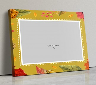 Photo Canvas Frames 14x12 - Watercolor Frame Design