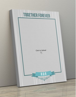 Photo Canvas Frames 14x20 - Together Forever  Design