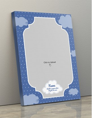 Photo Canvas Frames 14x20 - Sky And Clouds With Feather Appear Quotation Design