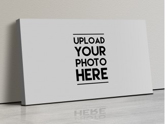 Photo Canvas Frames 17x10 - Full Pic Upload Design