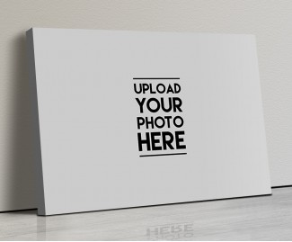 Photo Canvas Frames 17x12 - Full Pic Upload Design