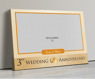 Photo Canvas Frames 17x12 - Wedding Anniversary Special Design